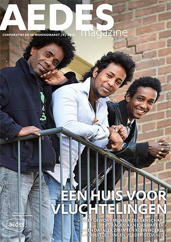 magazine cover aedes vluchtelingen curve home_01