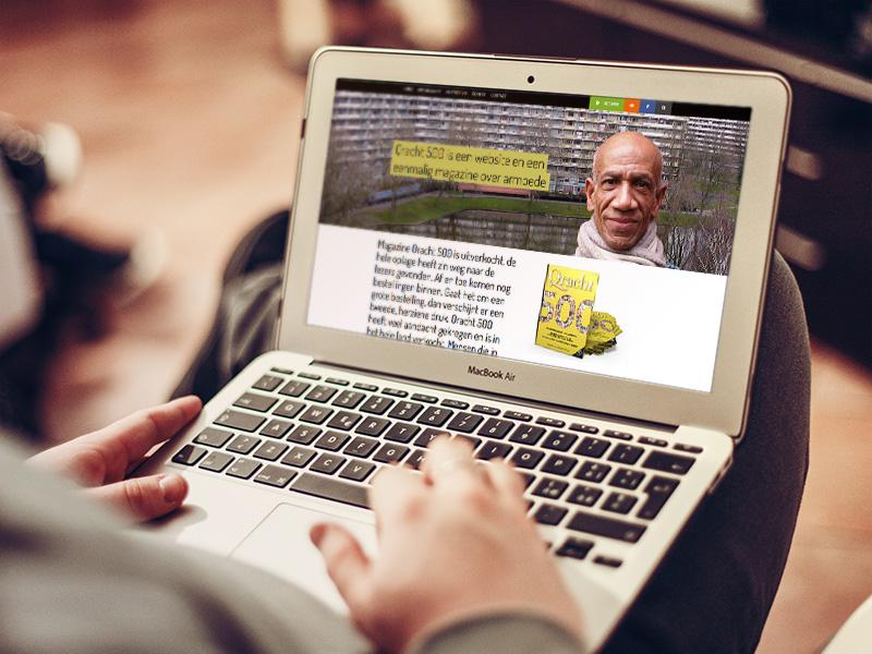 qracht500 website curve portfolio