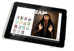 curve zam magazine app portfolio thumbnail